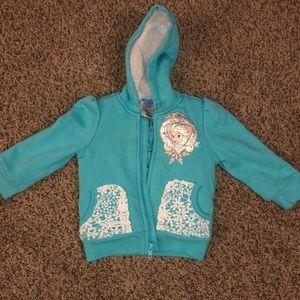 Disney Elsa zip up jacket